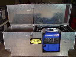 Yamaha 3000 Generator >> Honda And Yamaha Generator Enclosure Gen Box Diamond Plate