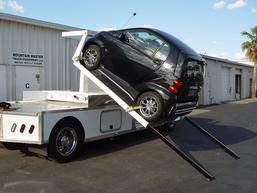 Smart cat loading system for Freightliner M2